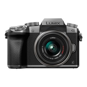 Hübriidkaamera Panasonic LUMIX G7 + LUMIX G Vario 14-42mmm