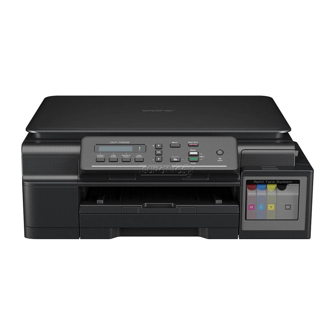 All In One Inkjet Color Printer DCP T500W Brother