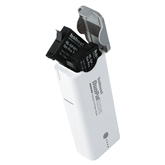 Portable battery charger for GoPro HERO4 batteries, Hähnel