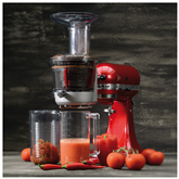 Slow Juicer and Sauce Attachment for Artisan Mixer KitchenAid