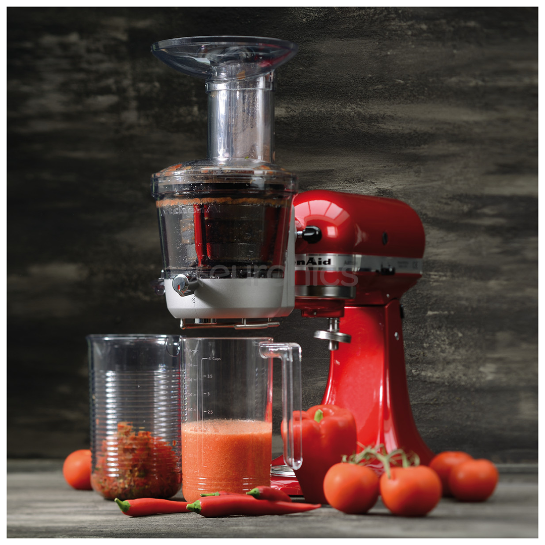 Slow Juicer Kitchenaid Review : Slow Juicer and Sauce Attachment for Artisan Mixer, KitchenAid, 5KSM1JA