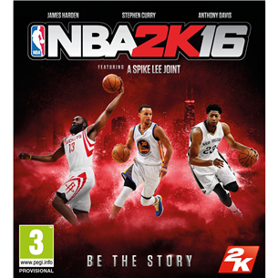 PS4 mäng NBA 2K16