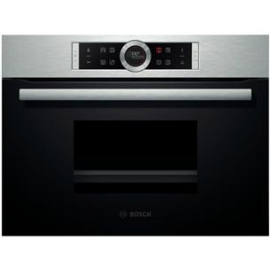 Integreeritav auruahi, Bosch / ahju maht : 38 L