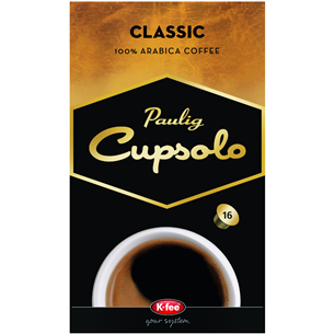Kohvikapslid Cupsolo Classic, Paulig