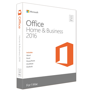 Office Home & Business 2016 Macile, Microsoft / ENG