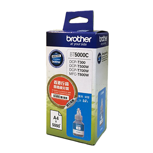 Ink container refill bottle Brother BT5000M (cyan)