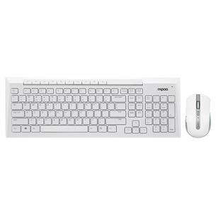 Hiire ja klaviatuuri komplekt 8200P, Rapoo / SWE