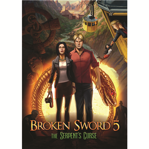 PS4 mäng Broken Sword 5: The Serpents Curse
