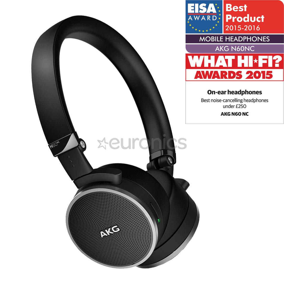 c4e60e5ddfb Noise cancelling headphones AKG N60NC, N60NC