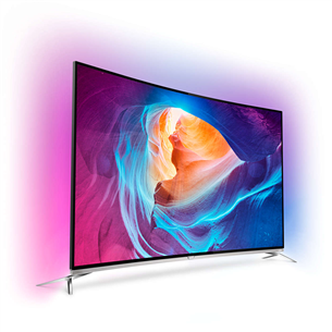 """55"""" curved Ultra HD LED LCD TV, Philips"""