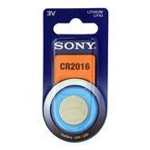 1 x CR2016 lithium battery, Sony