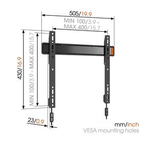 """TV wall mount Vogel's W50070 (32-55"""")"""