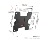 TV wall mount Vogels W50610 (19-43)
