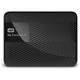 Väline kõvaketas My Passport X Gaming Storage, Western Digital / 2 TB