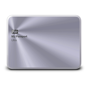 Väline kõvaketas My Passport Ultra Metal Edition, Western Digital / 2 TB