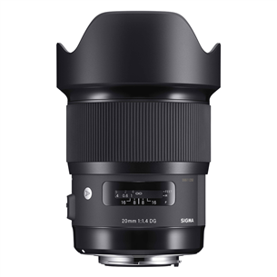 Objektiiv 20mm F1,4 DG HSM | Art Nikonile, Sigma