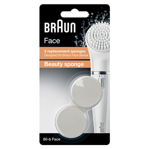 Facial Cleansing replacement brush heads Braun SE80-B
