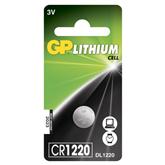 1 x CR1220 liitium patarei, GP
