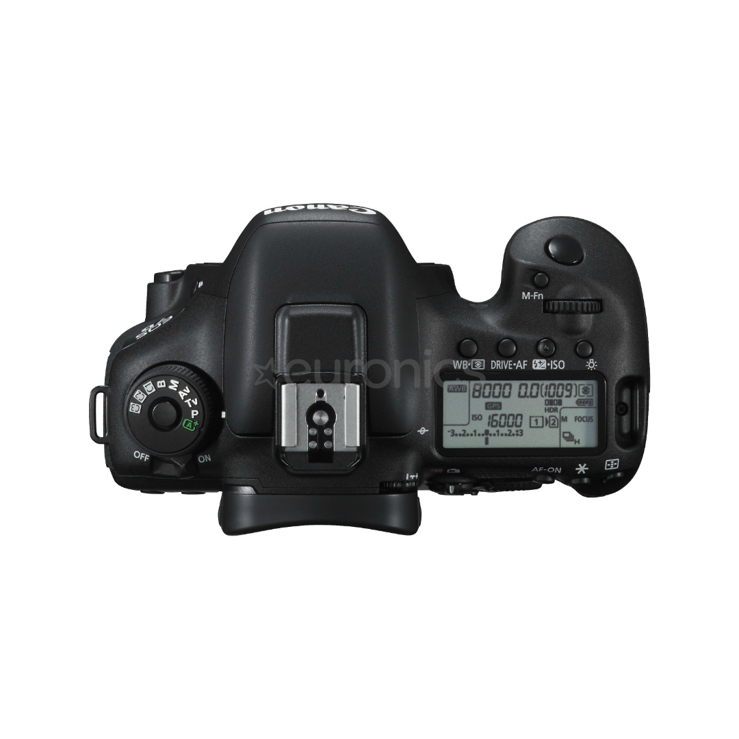 DSLR camera body Canon EOS 7D Mark II