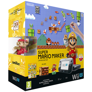 Mängukonsool Wii U (32 GB) Super Mario Maker Bundle, Nintendo