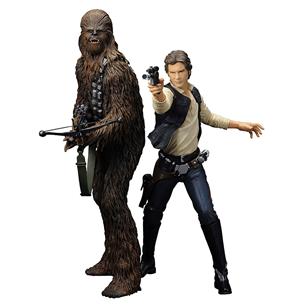 Kujud Han Solo ja Chewbacca, Kotobukiya