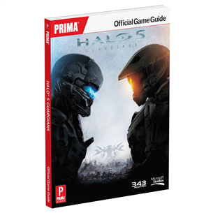 Halo 5: Guardians Standard Edition raamat, Prima Games