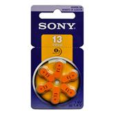 Батарейки для слухового аппарата Hearing aid 13, Sony / 6 шт
