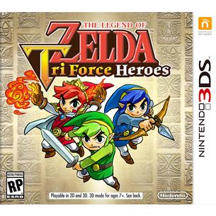 3DS mäng The Legend of Zelda: Tri Force Heroes