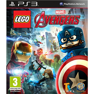 PS3 mäng LEGO Marvels Avengers