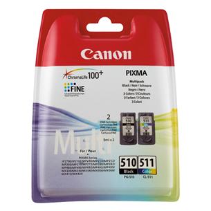 Tindikassettide komplekt PG-510 / CL-511, Canon