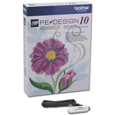 Tikkimistarkvara  PE-Design uuendus ver.10, Brother