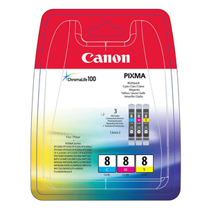 Ink cartridge multipack Canon CLI-8CMY