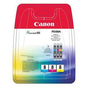 Tindikassettide komplekt CLI-8CMY, Canon