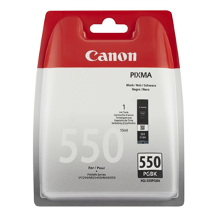 Tindikassett PGI-550 PGBK (must), Canon