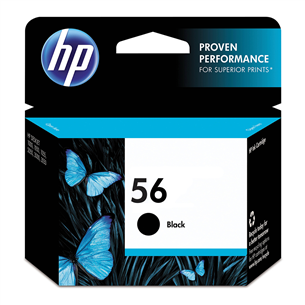 Ink cartridge 56 (black), HP
