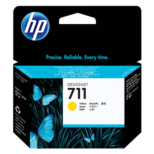 Ink cartridge 711 (yellow), HP