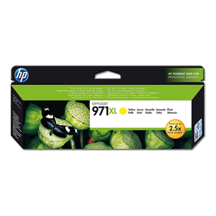 Tindikassett 971XL (kollane), HP