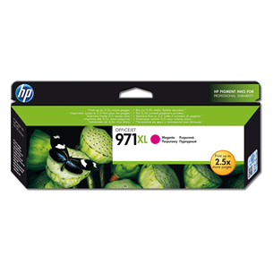 Tindikassett 971XL (magneta), HP