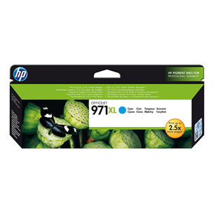 Ink cartridge HP 971XL (cyan) CN626AE