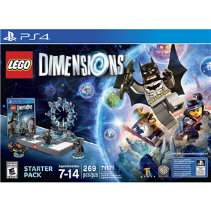 PS4 mäng Lego Dimensions Starter Pack