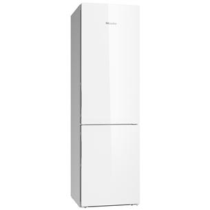 Külmik NoFrost, Miele / kõrgus: 201 cm / valge klaas