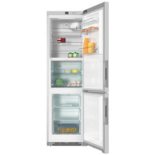 Холодильник NoFrost, Miele / высота: 201 см / нержавеющая сталь