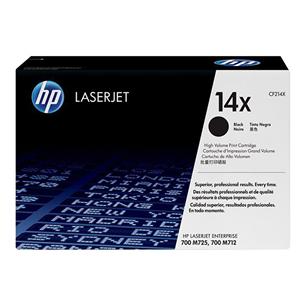 Картридж 14X, HP / чёрный