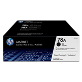 Toner HP 78A dual pack (black)