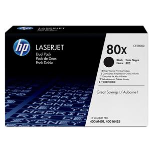 Tooner HP 80X topeltpakk (must)