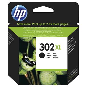 Ink cartridge 302XL (black), HP