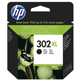 Tindikassett 302XL (must), HP