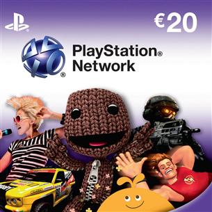 PlayStation Network Live kaart, Sony / €20