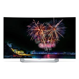 3D 55 nõgus Full HD OLED-teler, LG