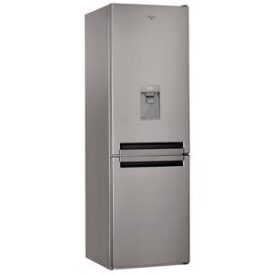 Külmik NoFrost, Whirlpool / kõrgus: 189 cm / vee dispenser